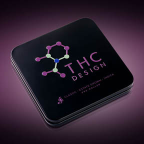 """<p class=""""zxc"""">High Sierra is proud to carry THC Designs Estate Grown Cannabis in pre-rolled tins.   Each tin contains six pre-rolled joints with a combined weight of 3.5 grams.</p><p class=""""zxc"""">Available in Indica, Sativa, and Hybrid, these pre-rolled joints are made of single-source all natural flower, responsibly grown using sustainable practices and hand-packaged in artisanal cones.</p>"""