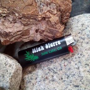 high sierra june lake Bic lighter